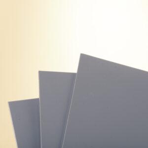 Bio-Polyethyleen plaat grijs